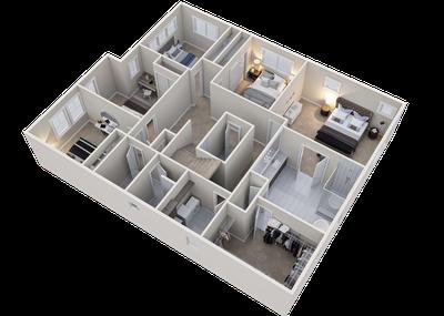 Alder Upper Floor 3D